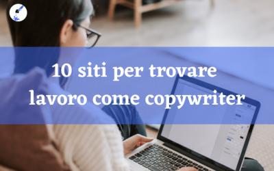 10 siti per trovare lavoro come copywriter